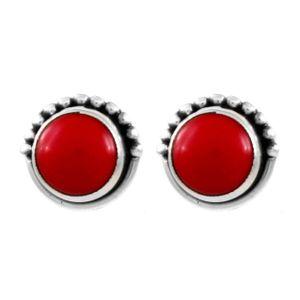 Brinco-Bolinha-Vermelho-Pequeno-Prata-925-01