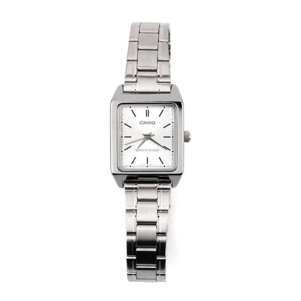 7d27e63d6cd Relógio Casio Vintage Analógico Mini Prateado • LTP-V007D-7EUDF ...
