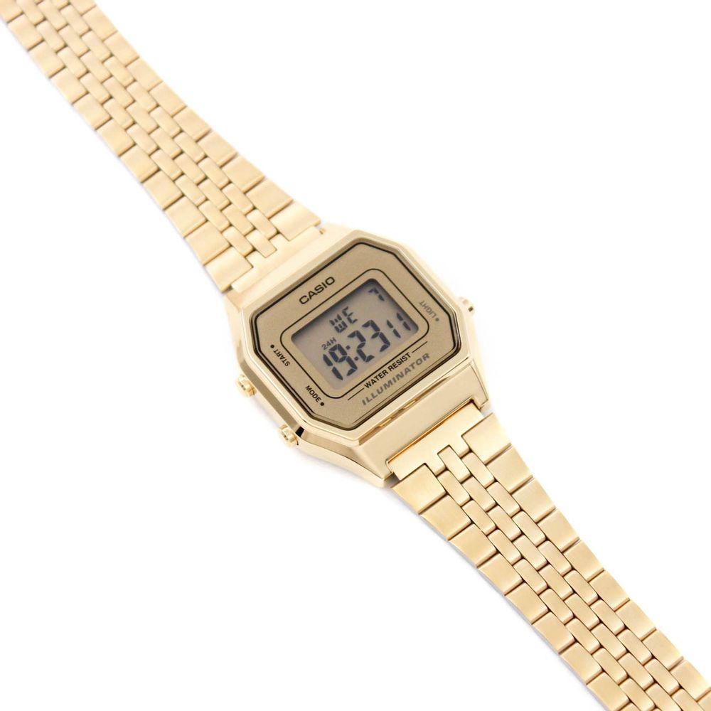 114551b61fa Relógio Casio Vintage Pequeno Dourado