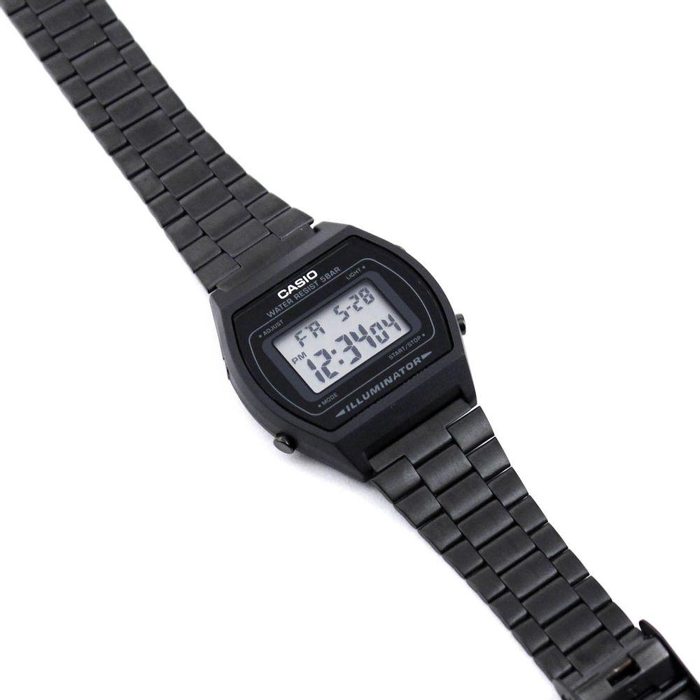 4d95b2d7547 Relógio Casio Vintage Preto Fosco • B640WB-1ADF • Laços de Filó ...