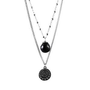 Colar-Duplo-Onix-Medalha-Prateado-01