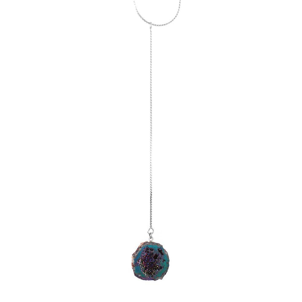 Colar-Pendulo-Geodo-Quartzo-Galaxy-Verde-Prateado-01