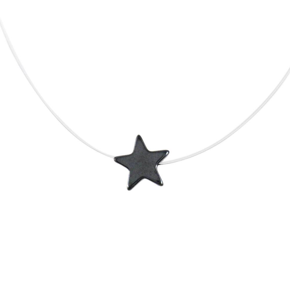 Colar-Choker-Transparente-Estrela-Hematita-Pequeno-Prateado-01