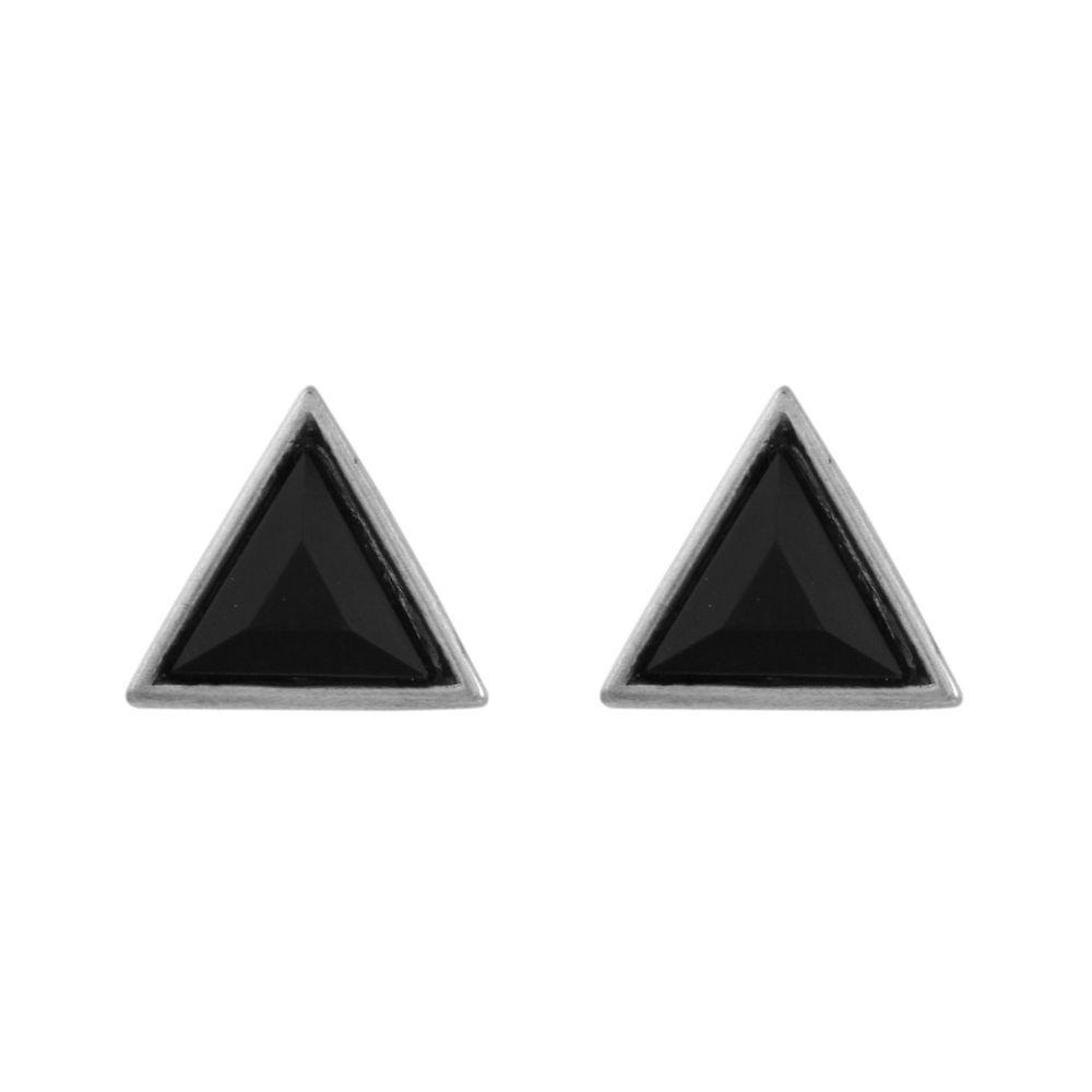 Brinco-Triangulo-Pedra-Preta-Prateado-01