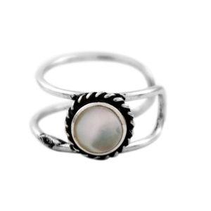 Brinco-Ear-Cuff-Aro-Duplo-Pedra-Redonda-Branca-Prata-925-01
