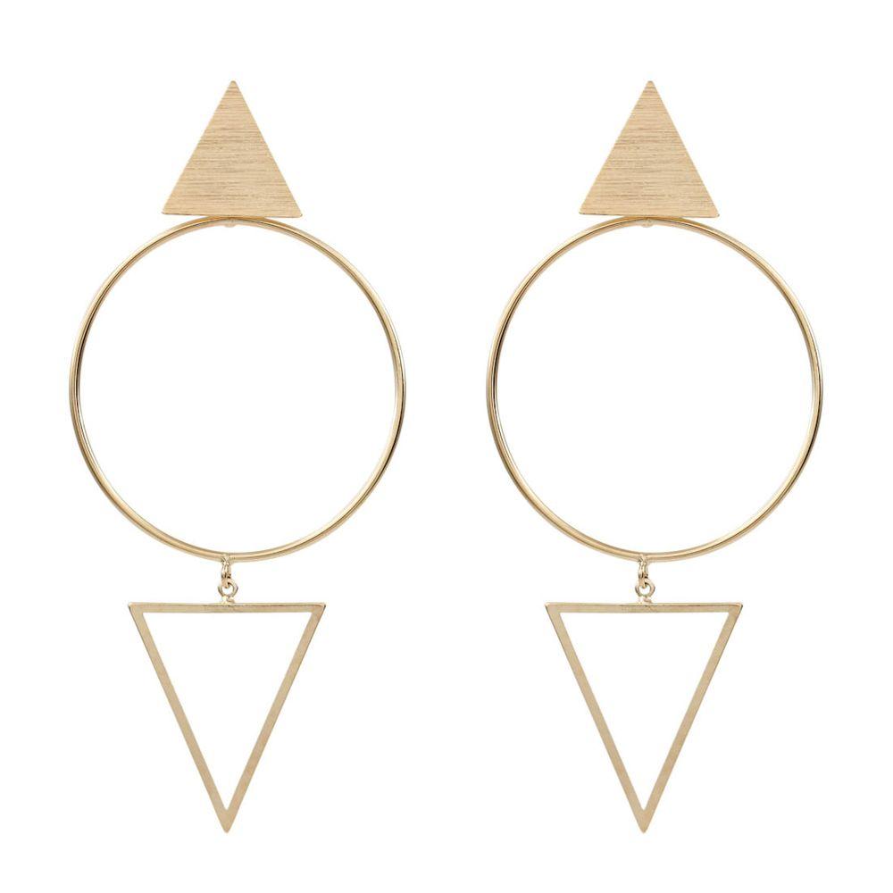 Brinco-Triangulo-Escovado-Vazado-Circulo-Grande-Dourado-Folheado-01