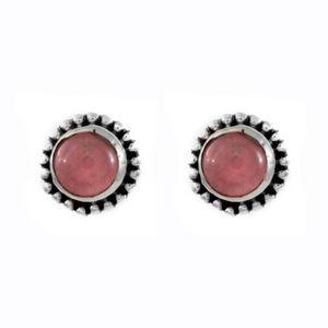Brinco-Bolinha-Quartzo-Rosa-Pequeno-Prata-925-01