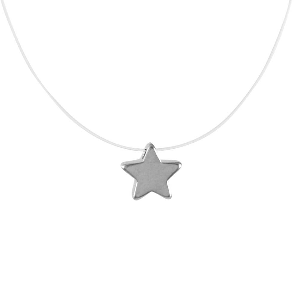 Colar-Transparente-Estrela-Fosca-Prateado-Folheado-01