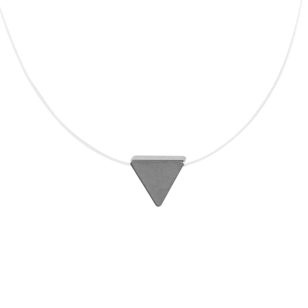 Colar-Transparente-Triangulo-Fosco-Prateado-Folheado-01