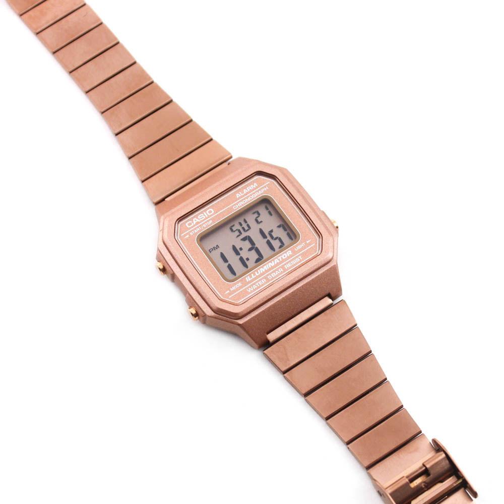 24523f29742 Relógio Casio Vintage Grande Fosco Rosé