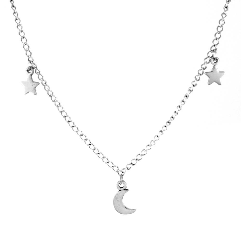 Colar-Choker-Lua-Estrela-Pequeno-Prata-925-01