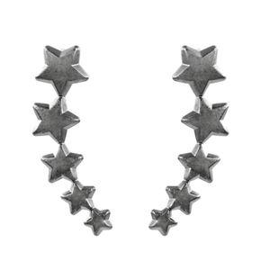 Brinco-Ear-Cuff-Estrelas-Lisas-Grafite-Folheado-01