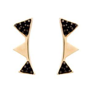 Brinco-Ear-Cuff-Triangulo-Zirconia-Negra-Dourado-Folheado-01