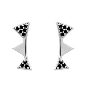 Brinco-Ear-Cuff-Triangulo-Zirconia-Negra-Prateado-Folheado-01