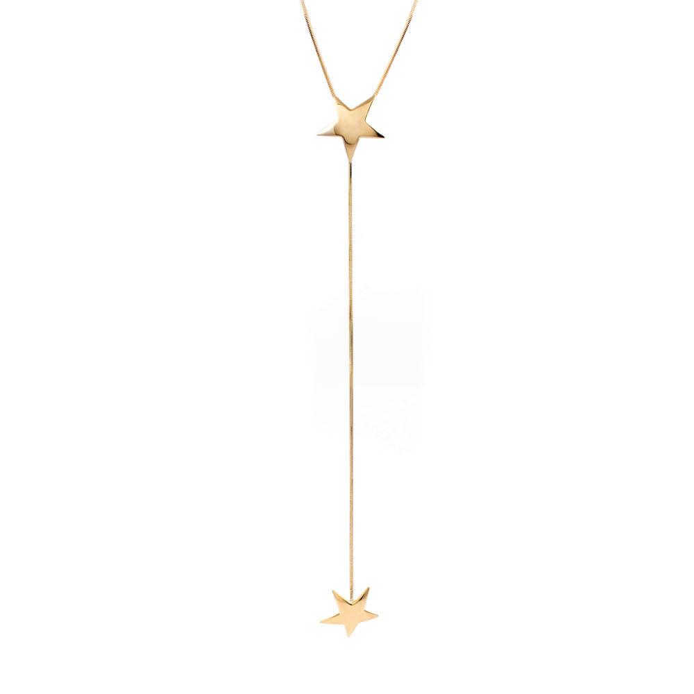 Colar-Pendulo-Estrela-Dupla-Lisa-Dourado-Folheado-01