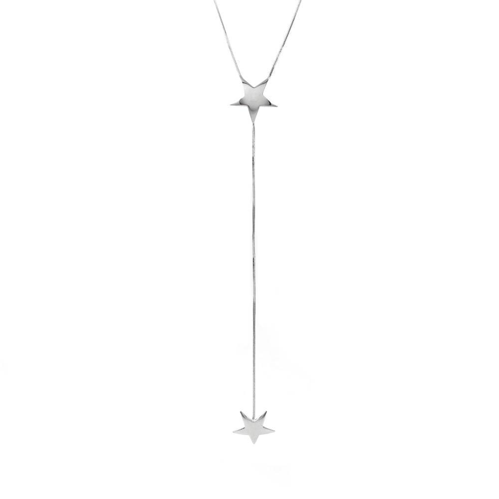 Colar-Pendulo-Estrela-Dupla-Lisa-Prateado-Folheado-01