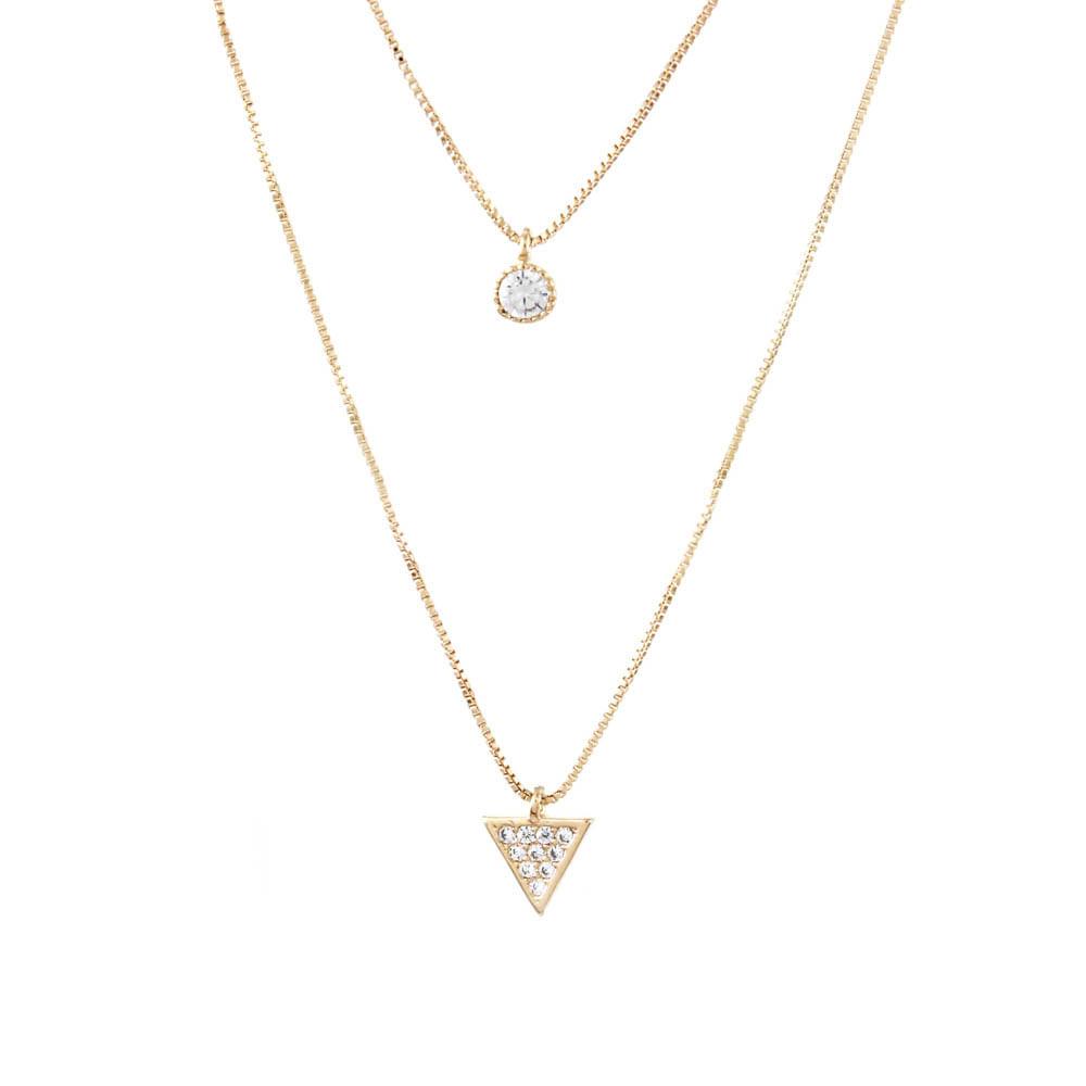 Colar-Duplo-Ponto-de-Luz-Triangulo-Mini-Dourado-Folheado-01