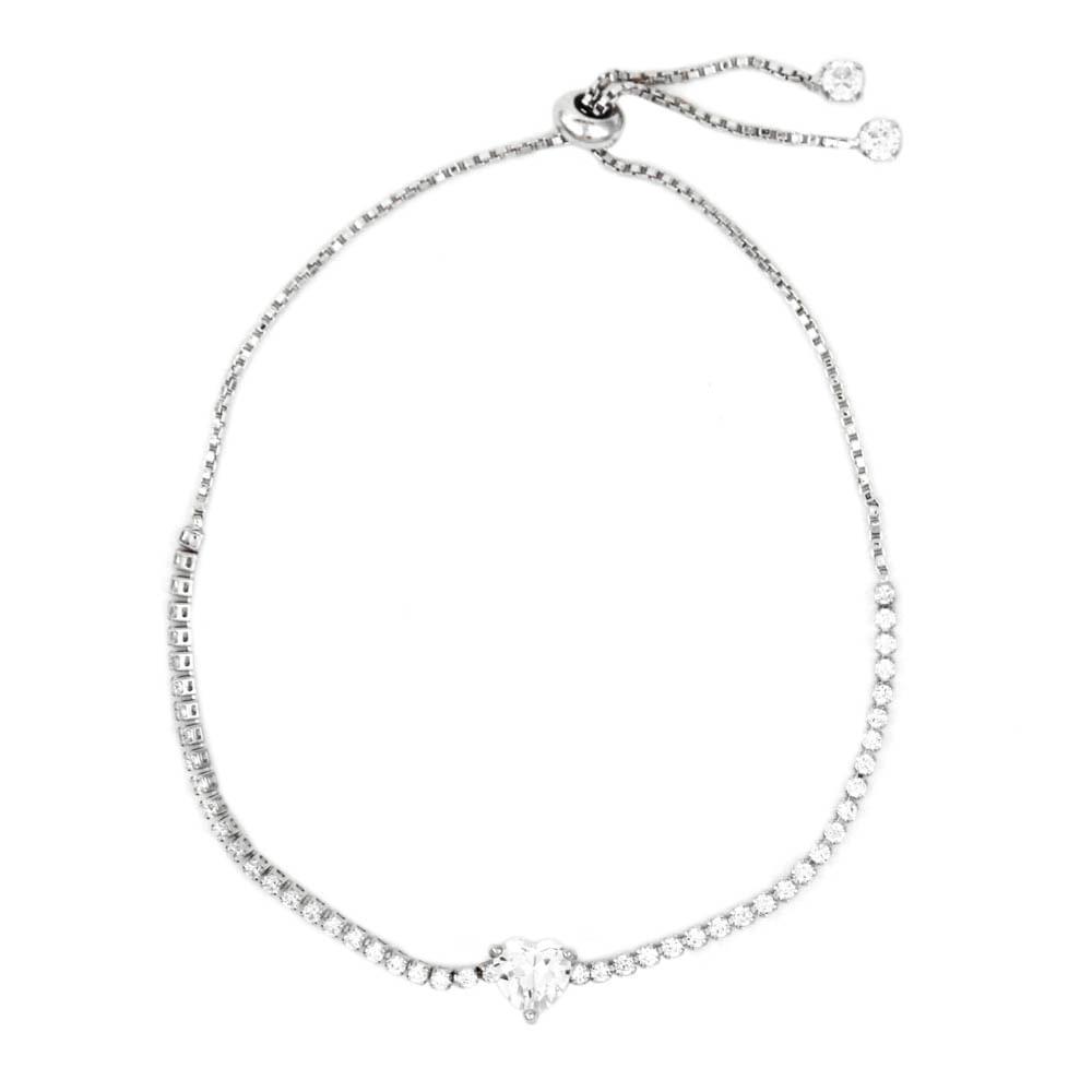 Pulseira-Pedra-Coracao-Branco-Transparente-Corrente-Zirconia-Prateado-Folheado-01