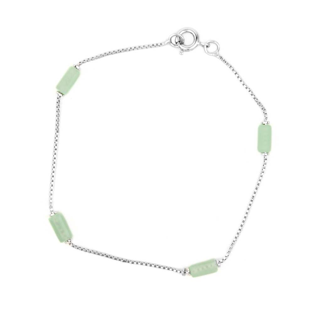 Pulseira-Pedra-Tubo-Verde-Prateado-Folheado-01