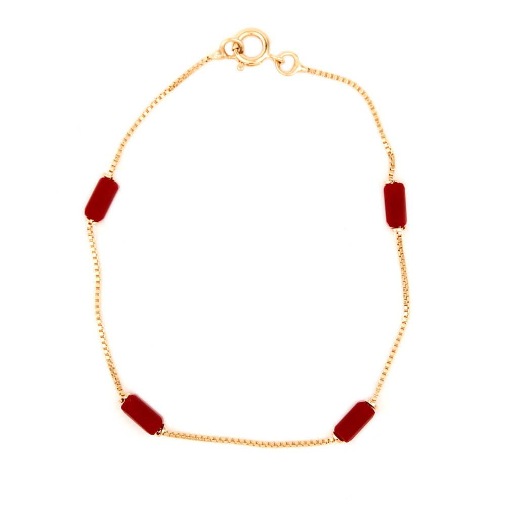 Pulseira-Pedra-Tubo-Vermelho-Dourado-Folheado-01