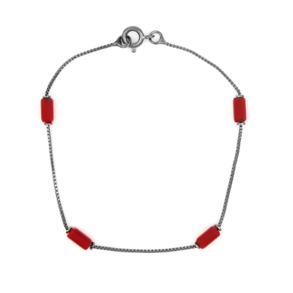 Pulseira-Pedra-Tubo-Vermelho-Grafite-Folheado-01