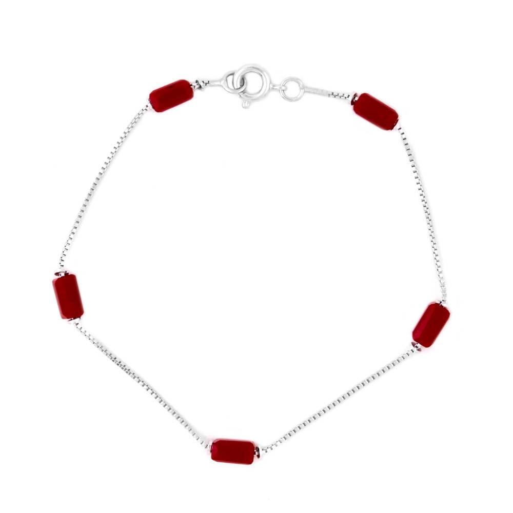 Pulseira-Pedra-Tubo-Vermelho-Prateado-Folheado-01