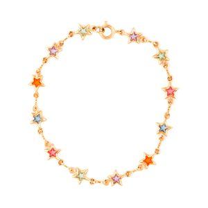 Pulseira-Estrelas-Coloridas-Dourado-Folheado-01