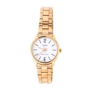 0e22519a8c5 Relógio Casio Vintage Redondo Mini Branco Dourado