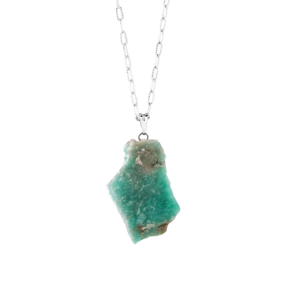 Colar-Pedra-Amazonita-Bruta-Prateado-Folheado-01