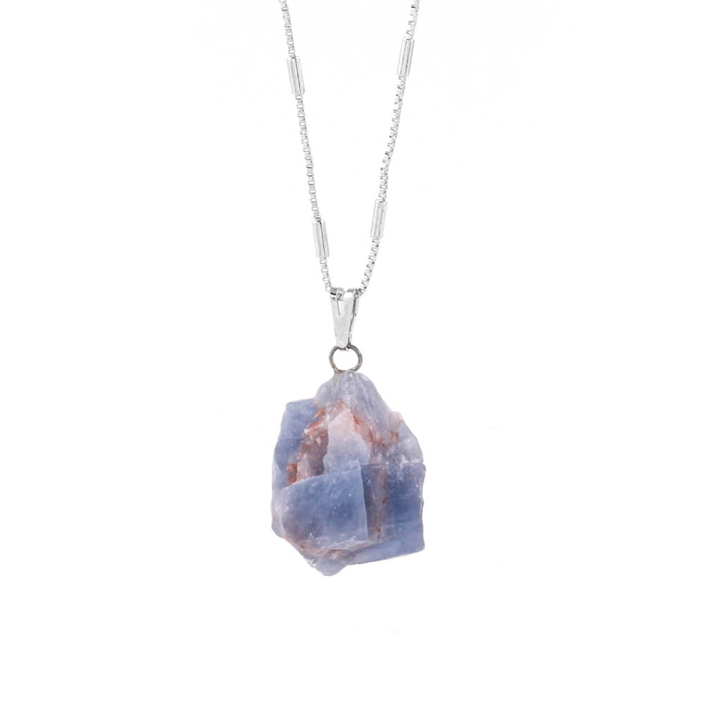 Colar-Pedra-Fluorita-Azul-Bruta-Prateado-Folheado-01