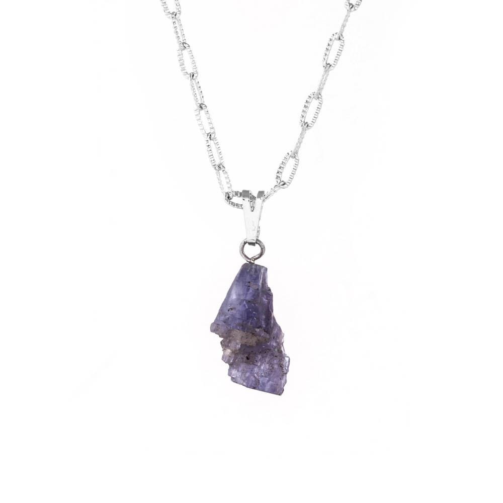 Colar-Pedra-Tanzanita-Bruta-Pequeno-Prateado-Folheado-01
