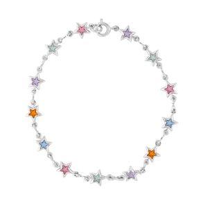 Pulseira-Estrelas-Coloridas-Prateado-Folheado-01