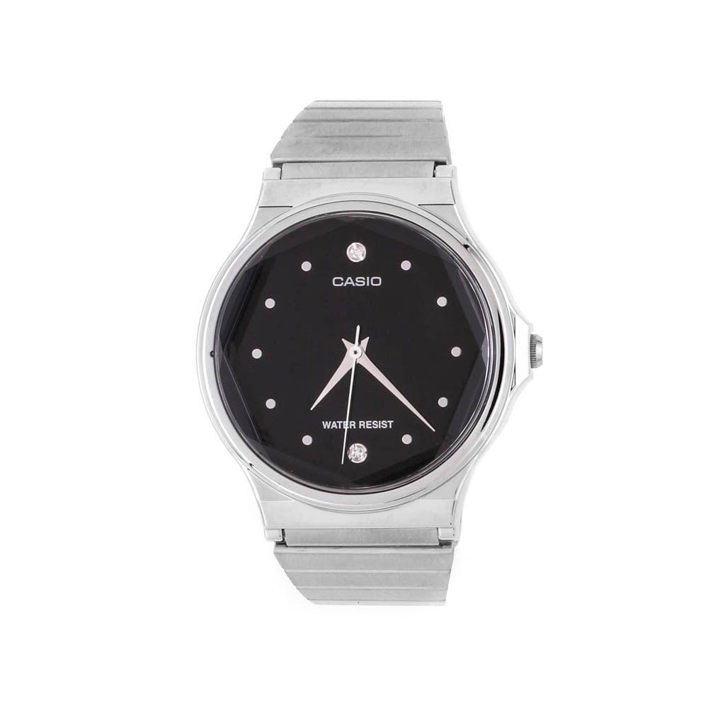 88123215cf5 Relógio Casio Vintage Redondo Diamond Prateado • MQ-1000D-1ADF ...