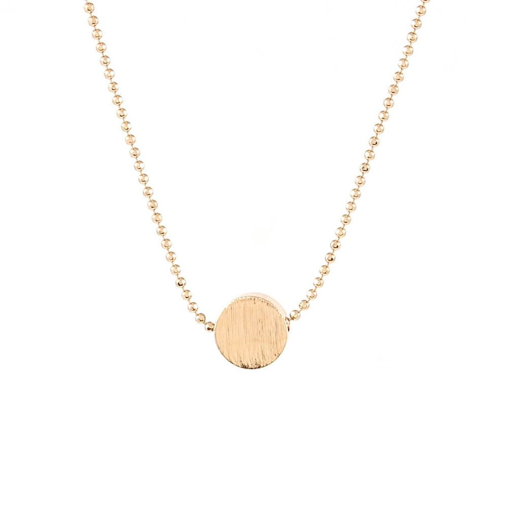 Colar-Circulo-Escovado-Pequeno-Dourado-Folheado-01