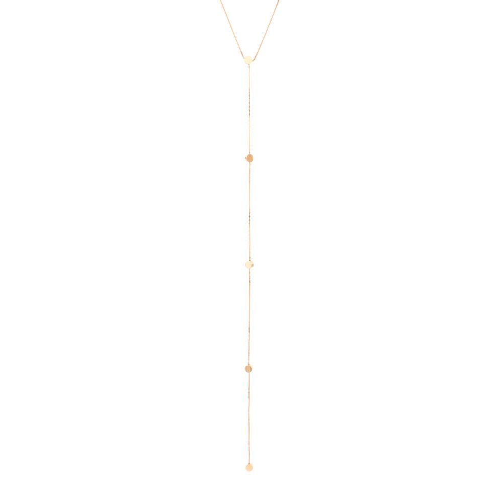 Colar-Choker-Pendulo-Circulo-Escovado-Dourado-Folheado-01