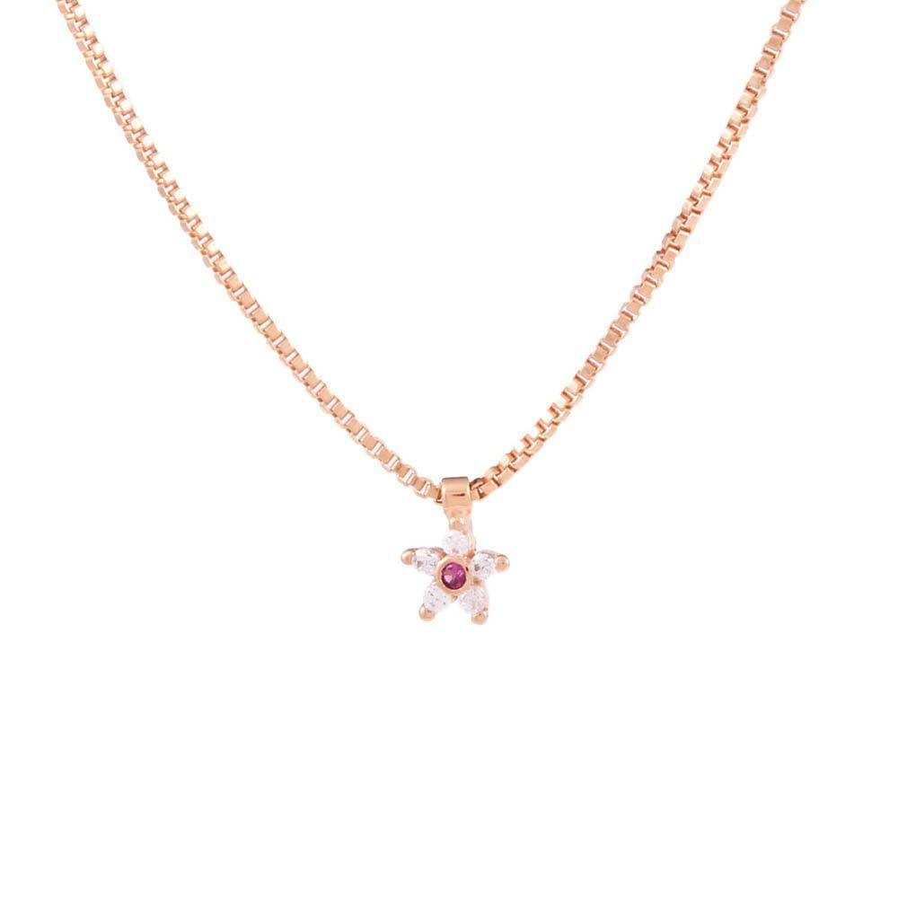 Colar-Flor-Mini-Branco-Vermelho-Rose-Folheado-01
