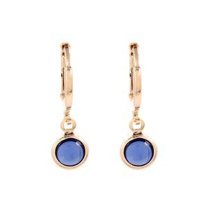 Brinco-Argola-Pedra-Redonda-Azul-Pequeno-Dourado-Folheado-01