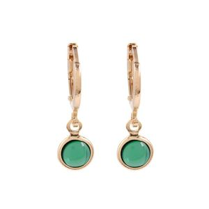 Brinco-Argola-Pedra-Redonda-Verde-Pequeno-Dourado-Folheado-01