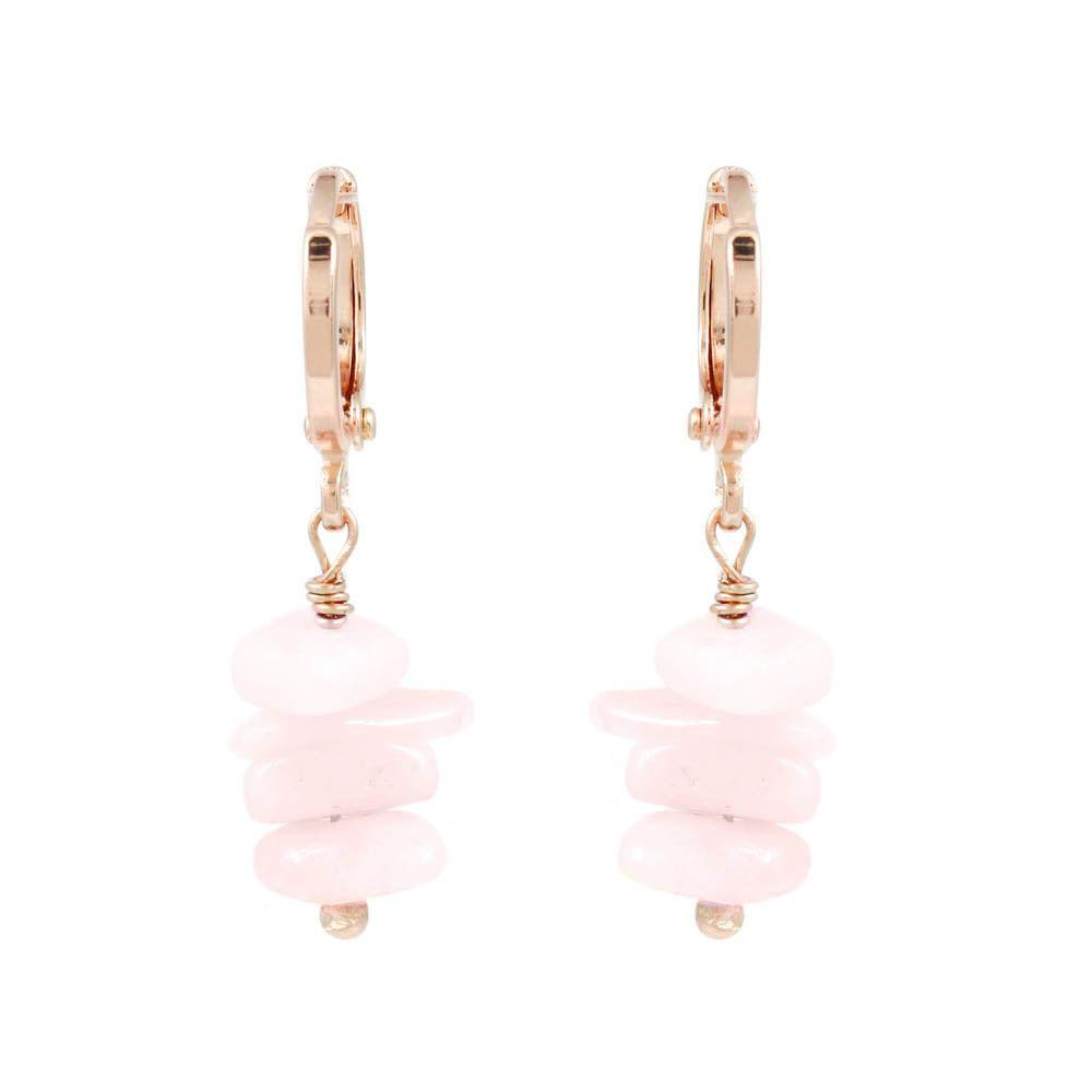 Brinco-Argola-Pedrinha-Natural-Quartzo-Rosa-Pequeno-Rose-Folheado-01