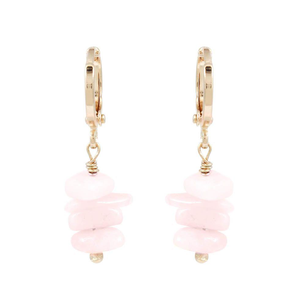 Brinco-Argola-Pedrinha-Natural-Quartzo-Rosa-Pequeno-Dourado-Folheado-01