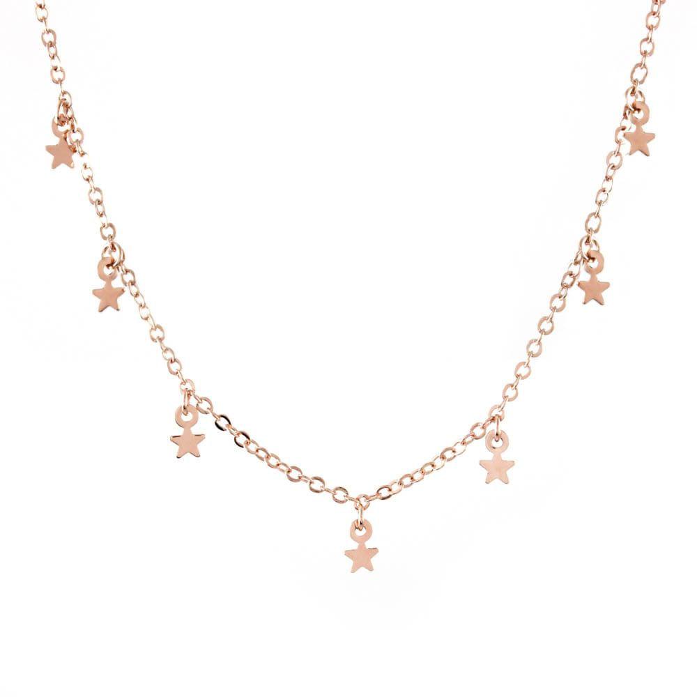 Colar-Choker-Estrelas-Mini-Penduradas-Rose-Folheado-01