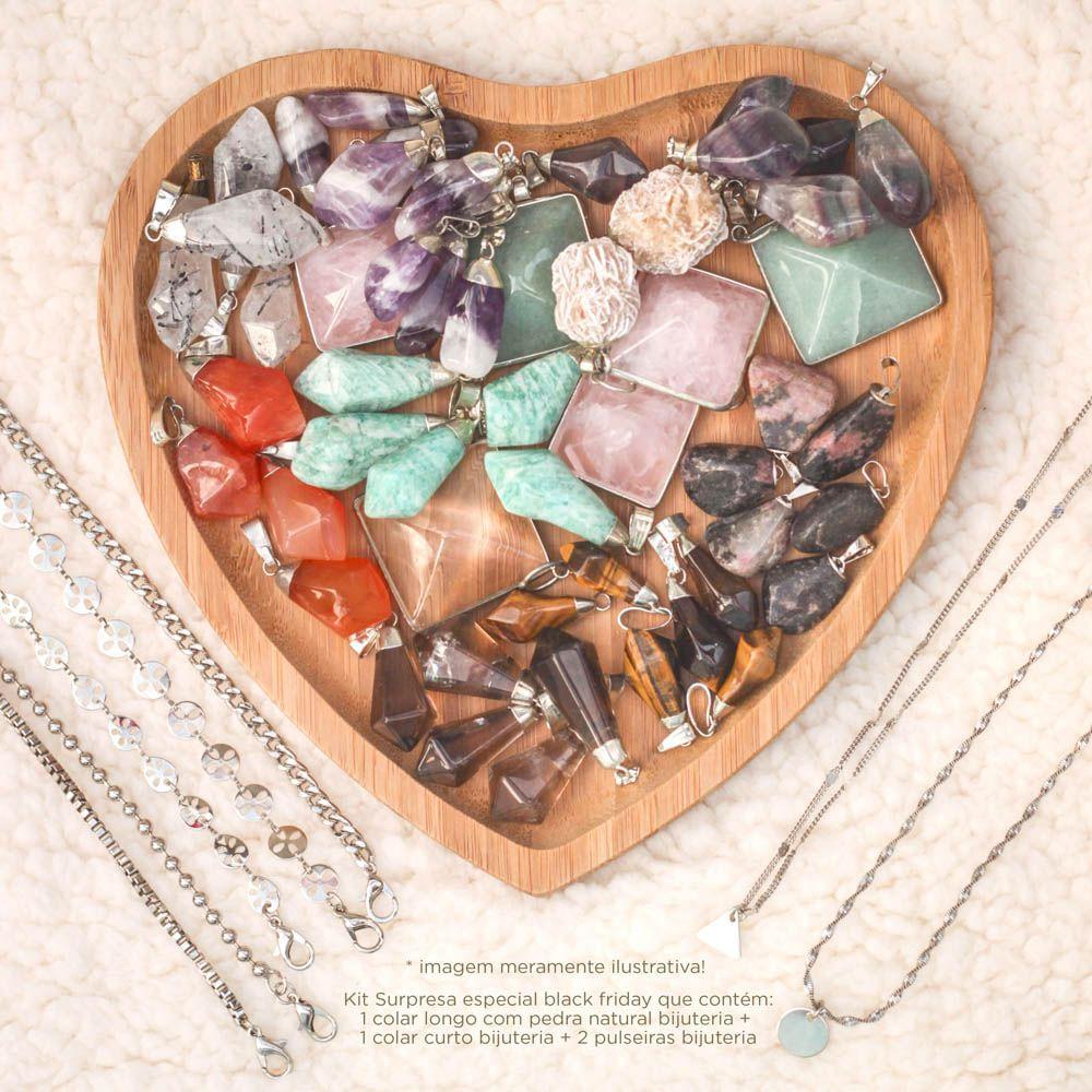 Kit-Surpresa-Pedra-Natural-4-Pecas-Prateado-Bijuteria