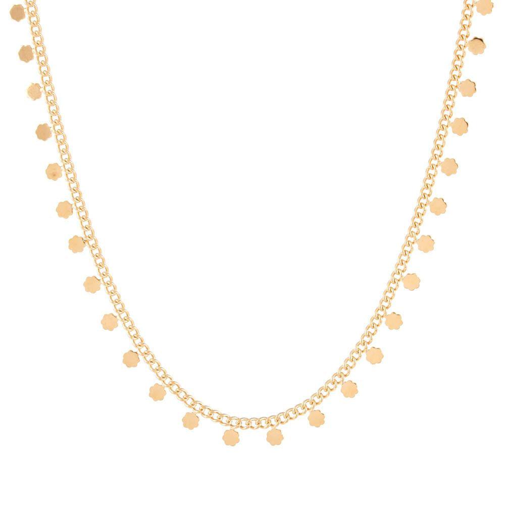 Colar-Choker-Corrente-Flor-Mini-Pendurada-Dourado-Folheado-01