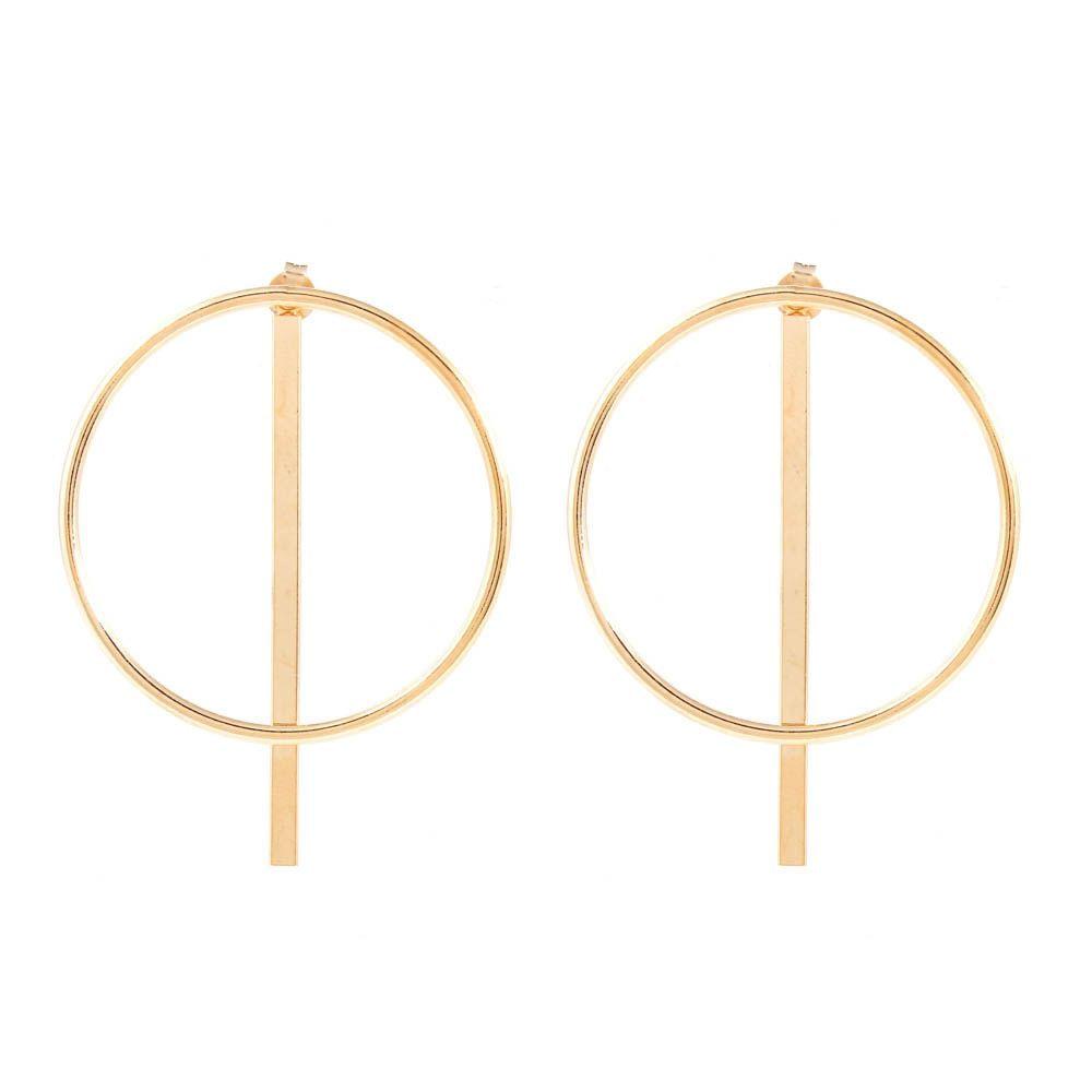 Brinco-Ear-Jacket-Circulo-Barra-Grande-Dourado-Folheado-01