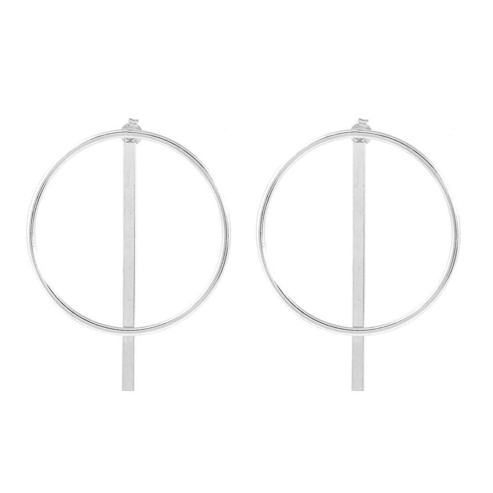 Brinco-Ear-Jacket-Circulo-Barra-Grande-Prateado-Folheado-01