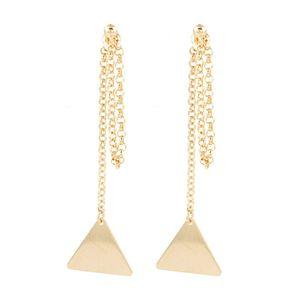 Brinco-Ear-Jacket-Correntes-Triangulo-Liso-Dourado-Folheado-01