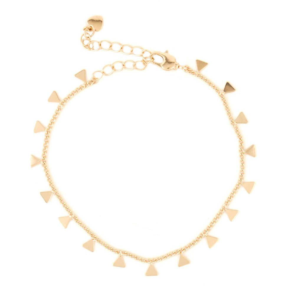 Pulseira-Corrente-Triangulo-Mini-Pendurado-Dourado-Folheado-01
