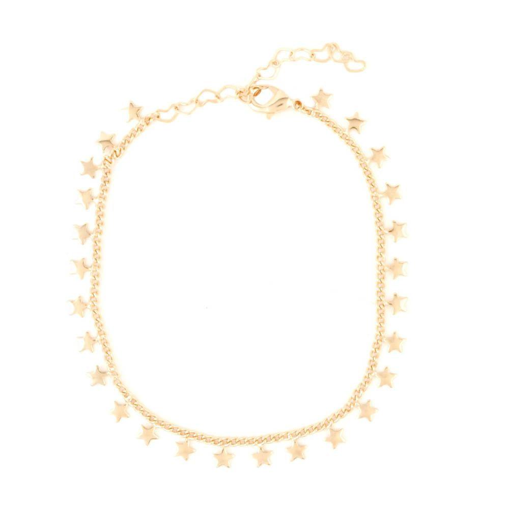 Pulseira-Corrente-Estrela-Mini-Pendurada-Dourado-Folheado-01
