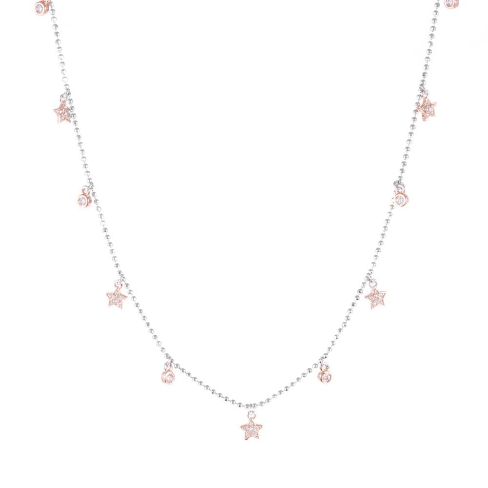 Colar-Choker-Estrelas-Zirconias-Mini-Penduradas-Rose-Prata-925-01