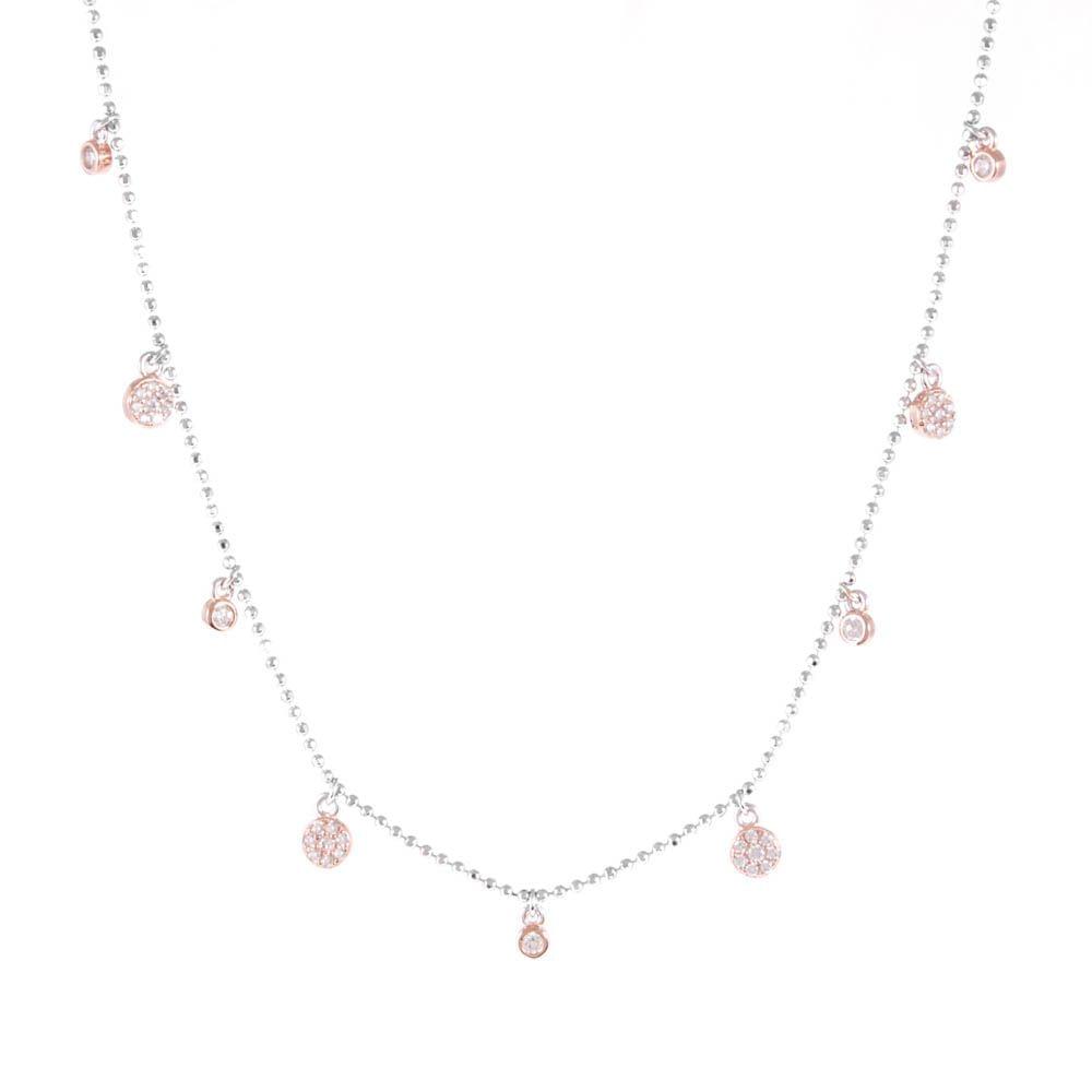 Colar-Choker-Bolinhas-Penduradas-Zirconia-Rose-Prata-925-01